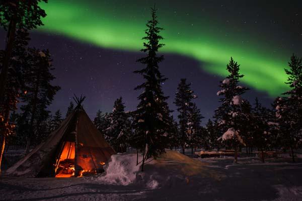 Disfruta de la naturaleza con Viajes Diana en la Laponia sueca más desconocida.
